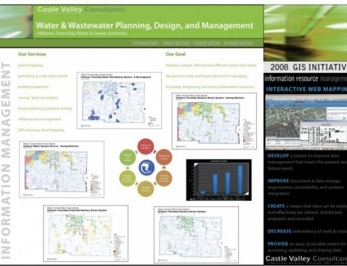 Hilltown Township Water and Sewer Authority Geographic Information System (GIS)
